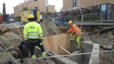 Rioolreconstructie Dr Coppestraat Enschede